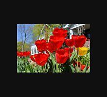 Front Yard Tulips Unisex T-Shirt