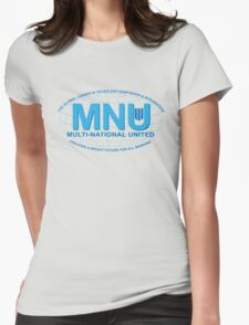 Multi National United Womens Fitted T-Shirt
