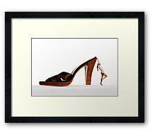 fashion slave Framed Print