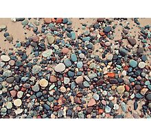 Lake Superior Colors Photographic Print