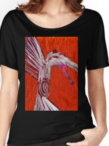 red raven Women's Relaxed Fit T-Shirt