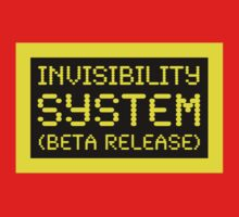 Beta Release: Invisibility System by Ron Marton