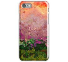 Meadow Morning abstract iPhone Case/Skin