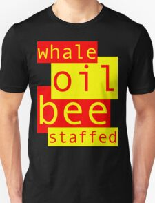 Whale Oil - Red & Yellow T-Shirt