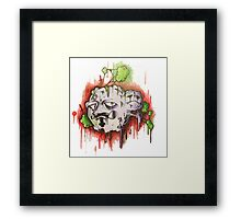 Weezing Framed Print