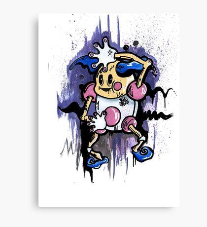 Mr Mime Canvas Print
