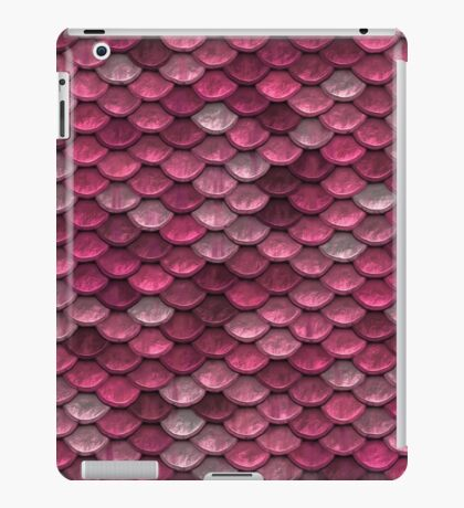 Pink Scale iPad Case/Skin