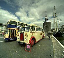 Buses n Boat  by Rob Hawkins