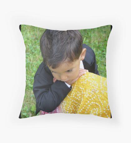 At Mother's Knee Throw Pillow