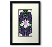 In the Garden of Delights Framed Print
