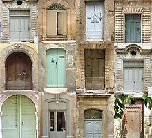More Doors of Pézenas by Shaun Goffe