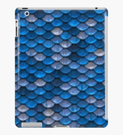 Blue Scale iPad Case/Skin