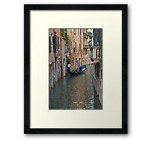 Gondola in Venice Framed Print