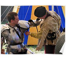 Armouring a knight, a hell of a Squire's Job! Poster