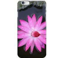 Blooming in the rain iPhone Case/Skin