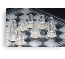 Chess Surrounded Canvas Print