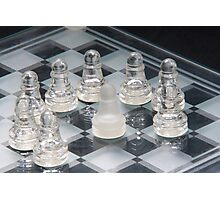 Chess Surrounded Photographic Print
