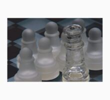 Chess Queen Surrounded by Pawns Kids Clothes