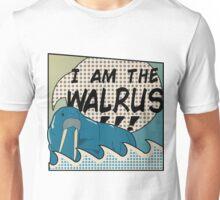 """I AM THE WALRUS"" Unisex T-Shirt"