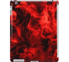 Red Smoke iPad Case/Skin