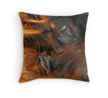 burnt Throw Pillow
