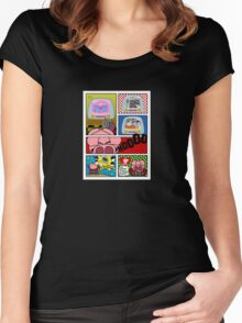 Capitan Cerdicola With Peppa Pig As Special Guest Star Women's Fitted Scoop T-Shirt