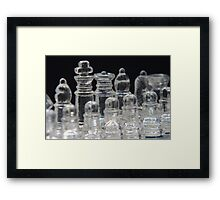 Chess King and Queen Framed Print