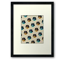 racer bear Framed Print