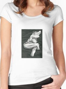 Figure Study With Mutation  Women's Fitted Scoop T-Shirt