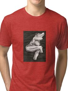 Figure Study With Mutation  Tri-blend T-Shirt