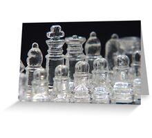Chess King Greeting Card