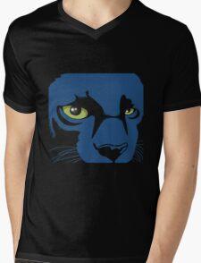 Black Panther Dark T-Shirt Mens V-Neck T-Shirt
