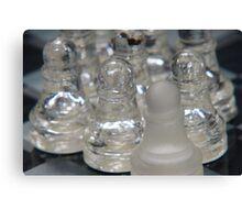 Chess Following 2 Canvas Print