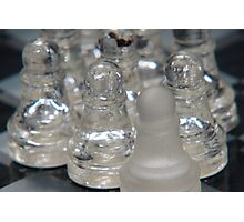 Chess Following 2 Photographic Print