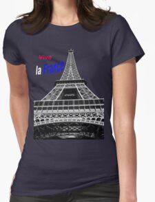 Vive la France! Womens Fitted T-Shirt