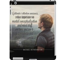 Less Madness iPad Case/Skin
