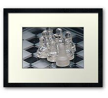 Chess Following Framed Print