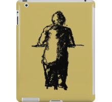 lonely man at the bar iPad Case/Skin