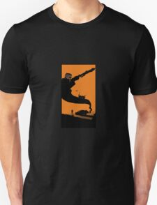 Mad Road - silhouette Unisex T-Shirt