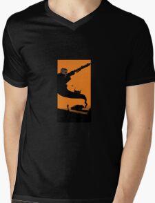 Mad Road - silhouette Mens V-Neck T-Shirt