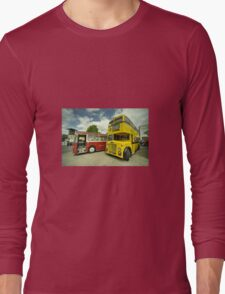 Red Bus Yellow Bus  Long Sleeve T-Shirt