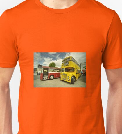 Red Bus Yellow Bus  Unisex T-Shirt
