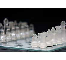 Chess 2 Photographic Print