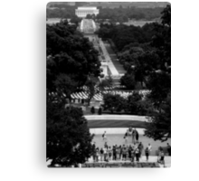 From Lincoln To Kennedy Canvas Print