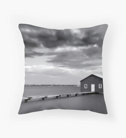 The Boathouse, Crawley Throw Pillow