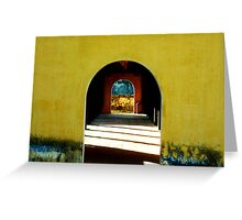 A touch of time Greeting Card