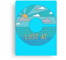 Lost At C Canvas Print