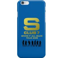 S Club 7 Bring It All Back Tour 2015 iPhone Case/Skin