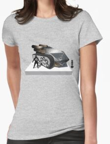 The Game of Kings, Wave Four: The White Queen-Rook's Pawn Womens Fitted T-Shirt
