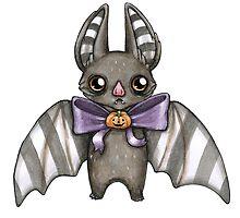 Harvest Bat by evillittlething
